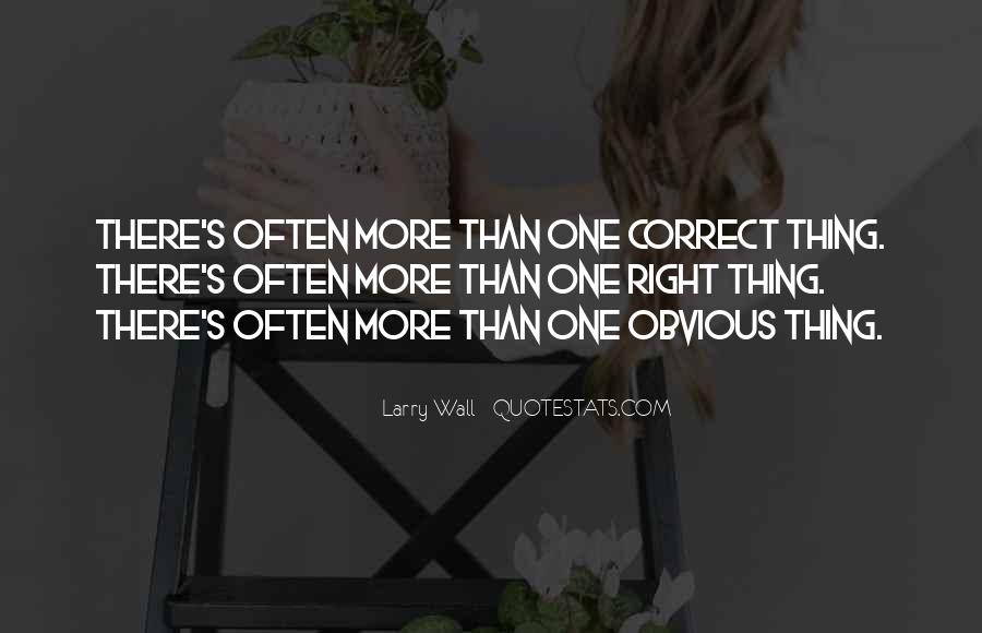 Quotes About Obvious Things #1117254