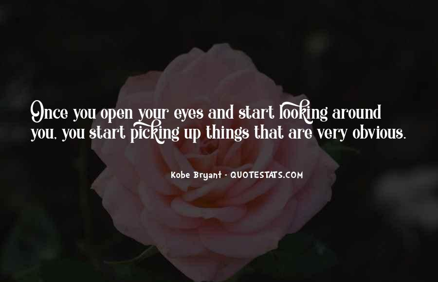 Quotes About Obvious Things #1253148