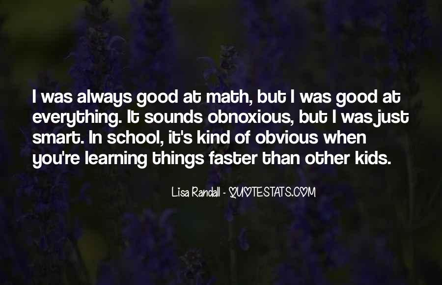 Quotes About Obvious Things #21418
