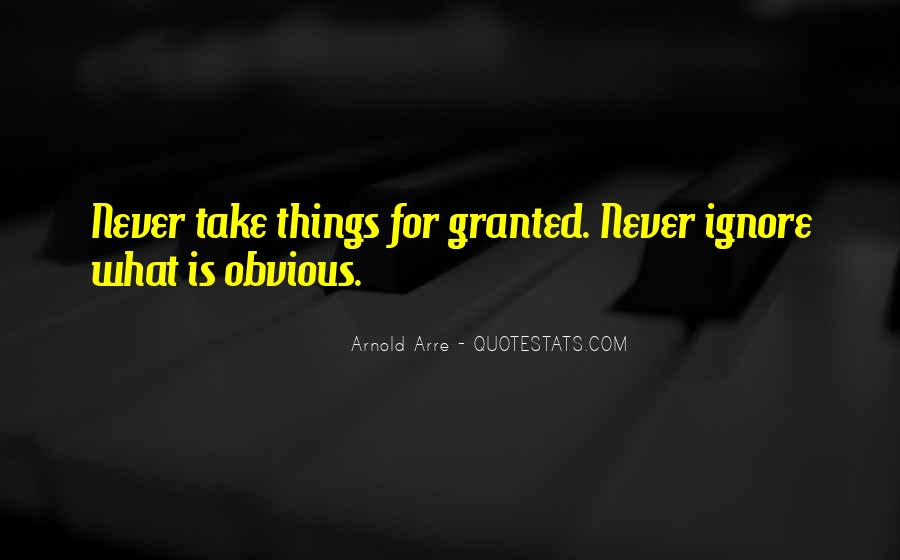 Quotes About Obvious Things #489801