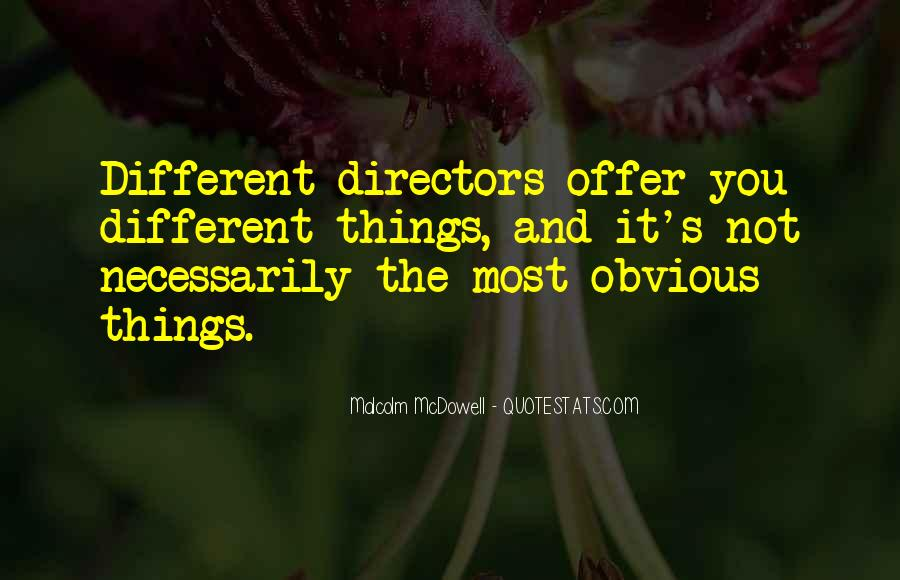 Quotes About Obvious Things #715013