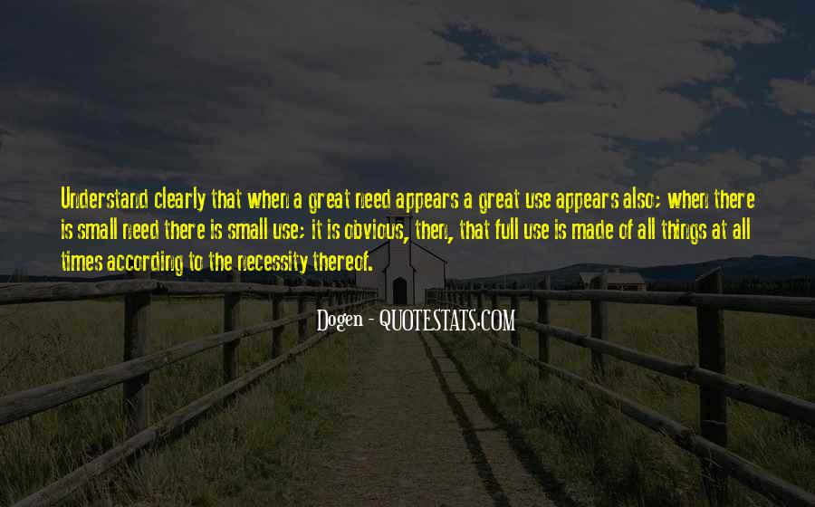 Quotes About Obvious Things #79515