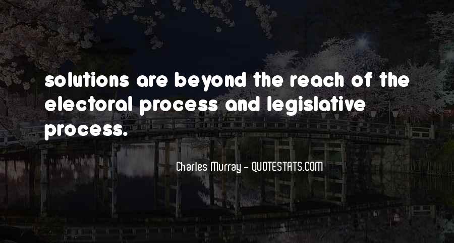 Quotes About The Legislative Process #1691686