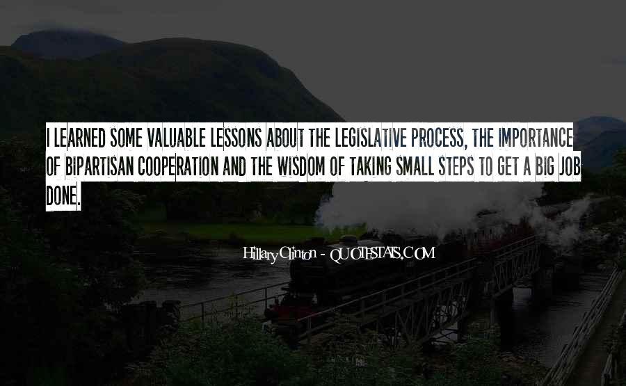 Quotes About The Legislative Process #456310