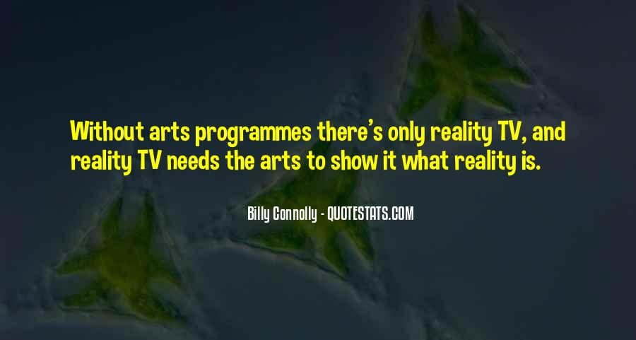 Quotes About Tv Programmes #501703