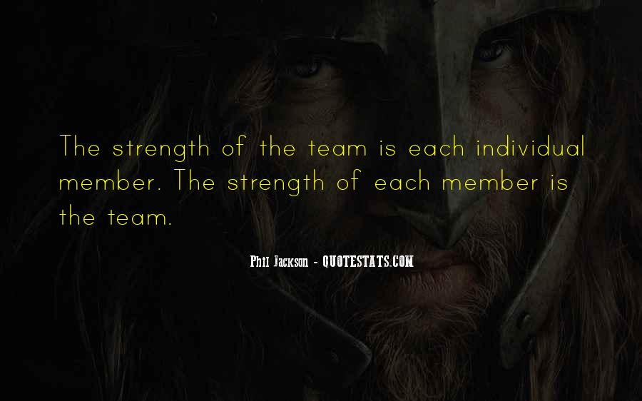 Quotes About Teamwork By Phil Jackson #1273256