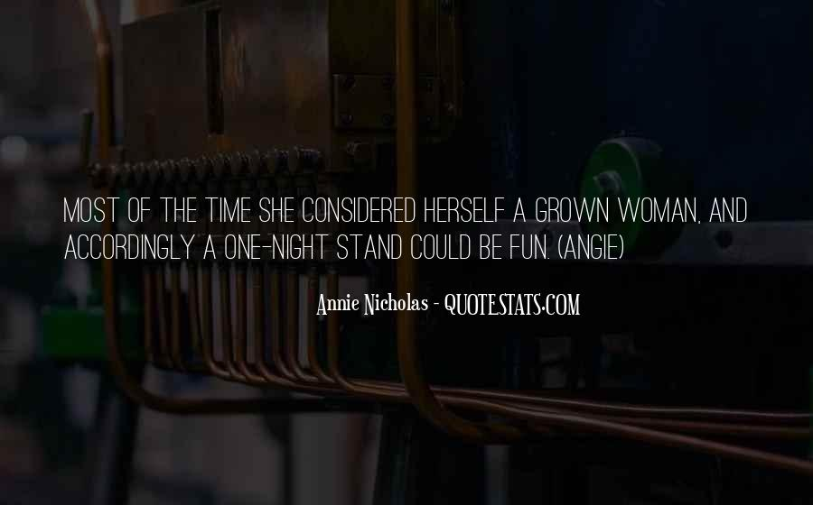Quotes About Grown Woman #1082126