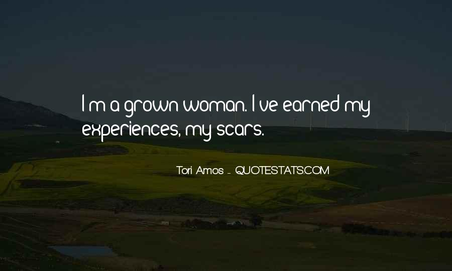 Quotes About Grown Woman #1199748