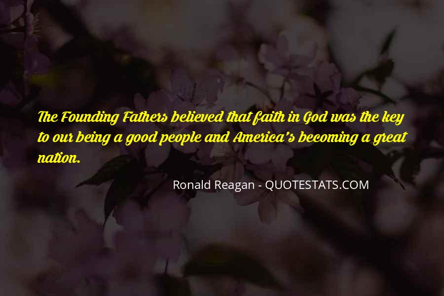 Quotes About God And Our Nation #407574