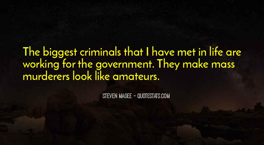 Quotes About Murderers #194074