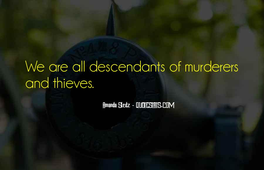 Quotes About Murderers #359292