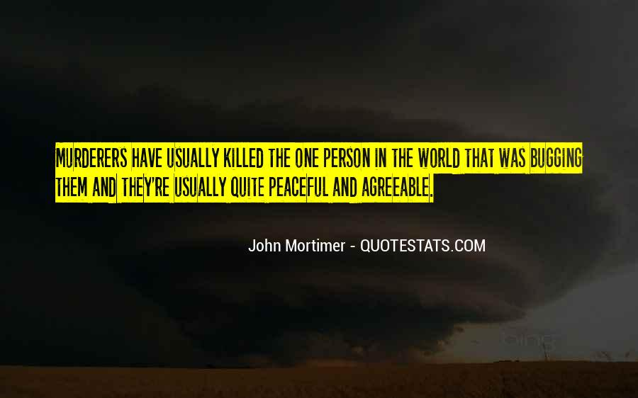 Quotes About Murderers #393126