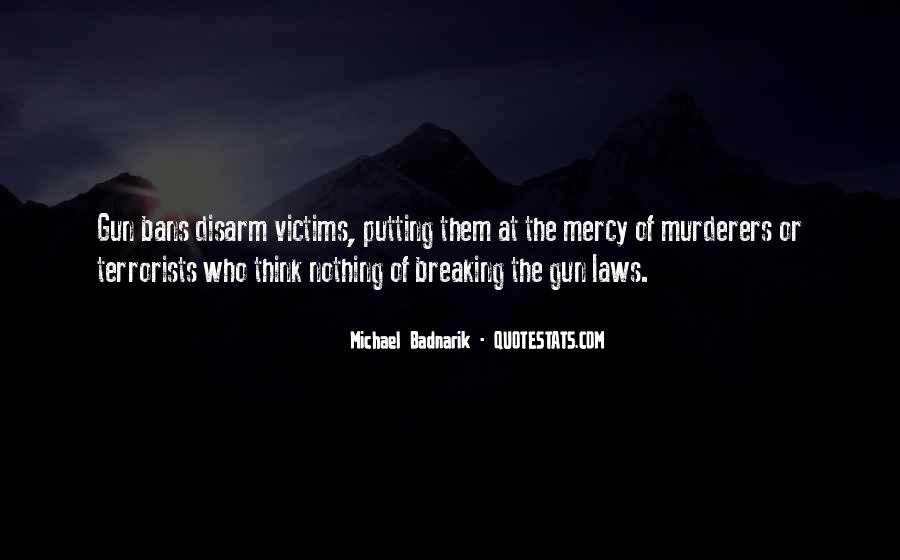 Quotes About Murderers #47743