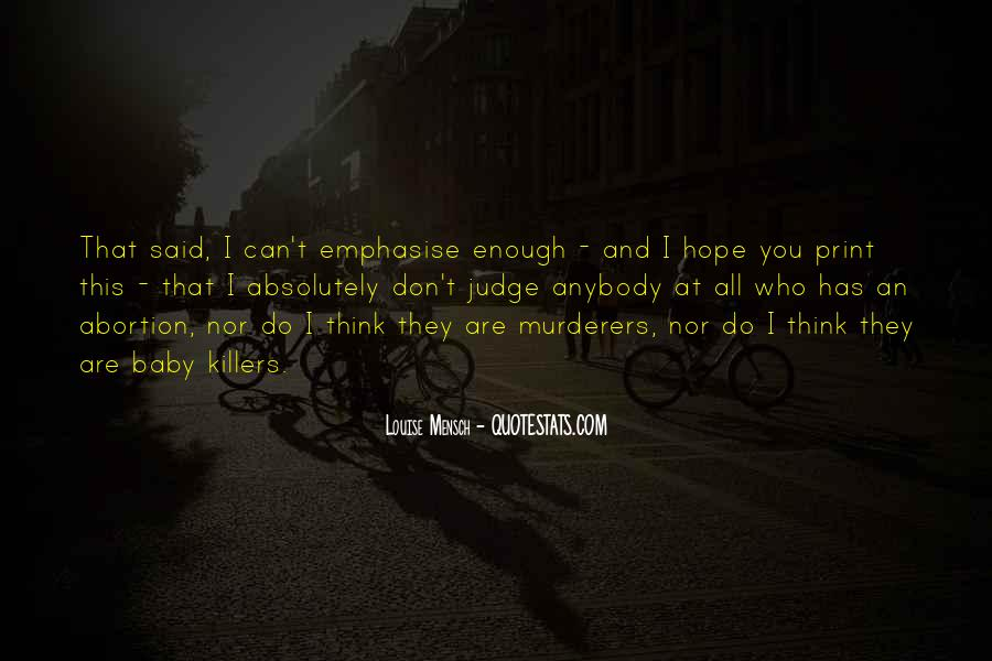 Quotes About Murderers #564366