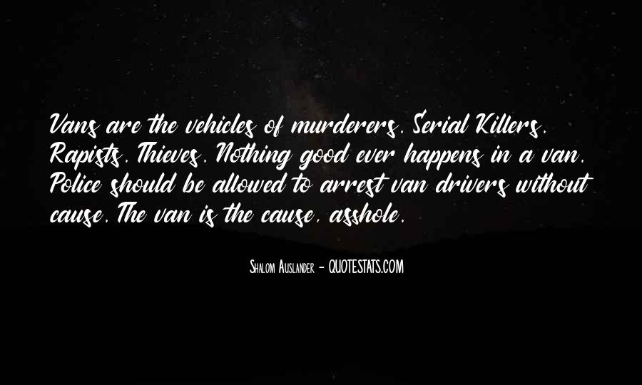 Quotes About Murderers #608709