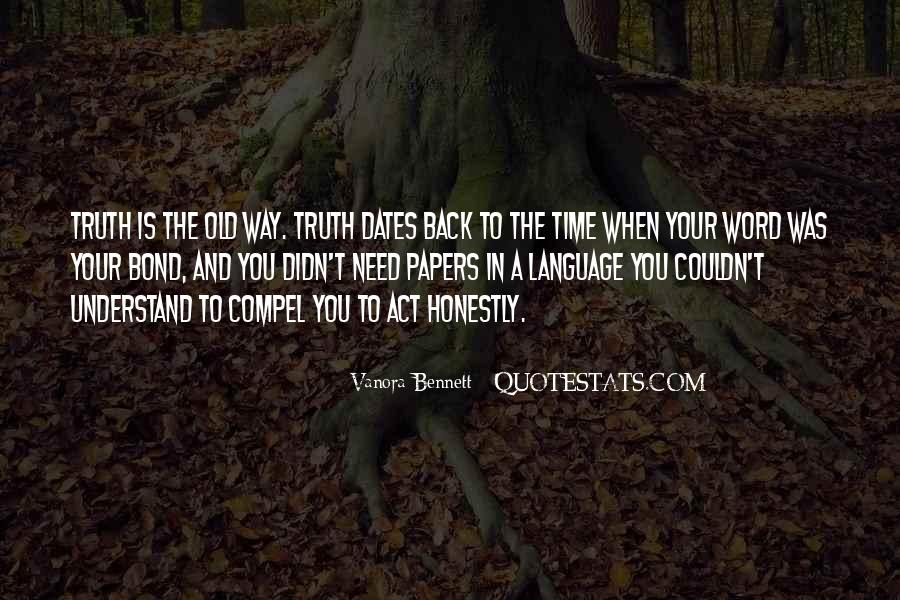 Quotes About Time And Dates #1240459