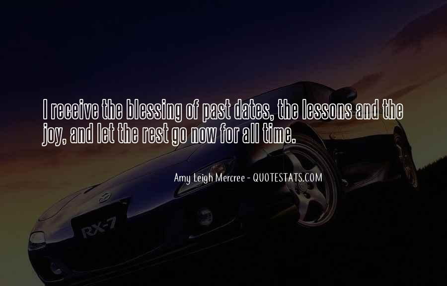 Quotes About Time And Dates #192909