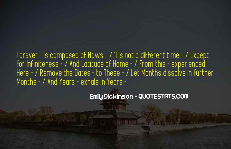 Quotes About Time And Dates #560426