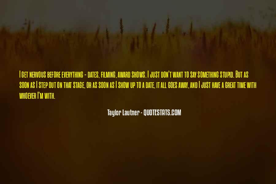 Quotes About Time And Dates #679686