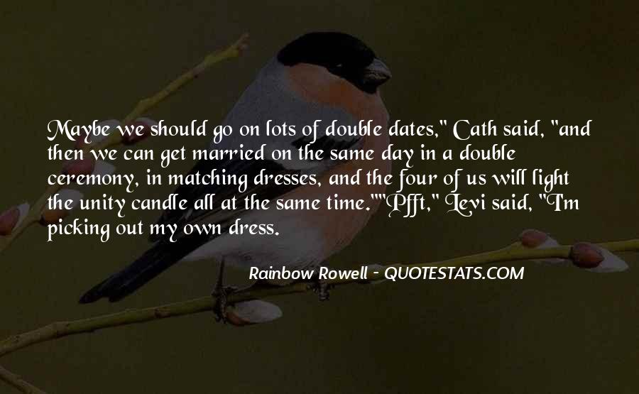 Quotes About Time And Dates #816993