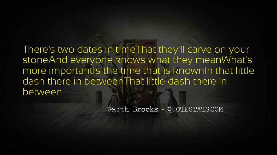 Quotes About Time And Dates #829556