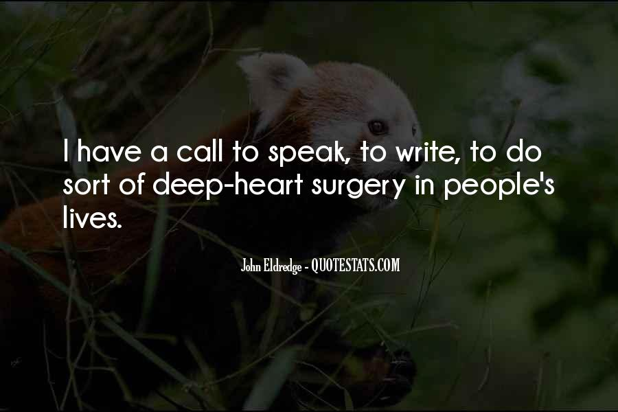 Quotes About Heart Surgery #119483
