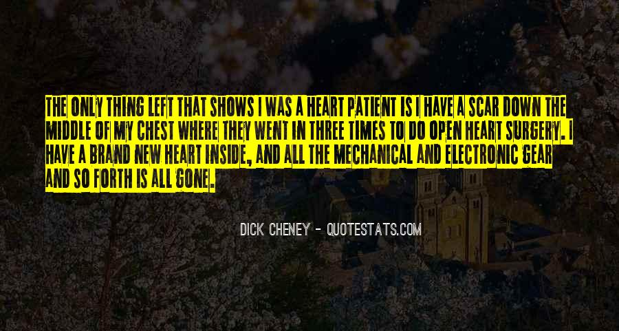 Quotes About Heart Surgery #21482