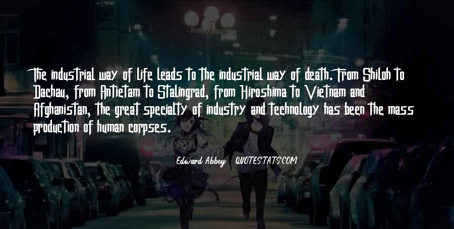 Quotes About Industrial Technology #1032359