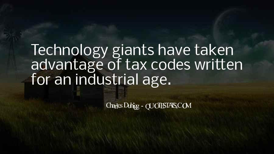 Quotes About Industrial Technology #1186765