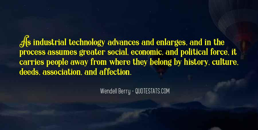 Quotes About Industrial Technology #1222672