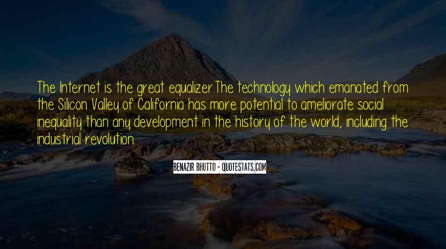 Quotes About Industrial Technology #1612156