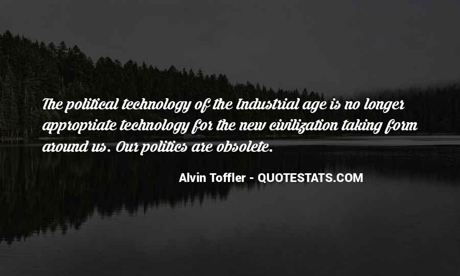 Quotes About Industrial Technology #63307