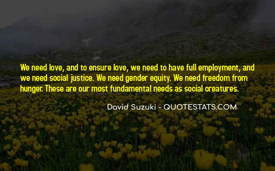 Quotes About Employment Equity #1520740