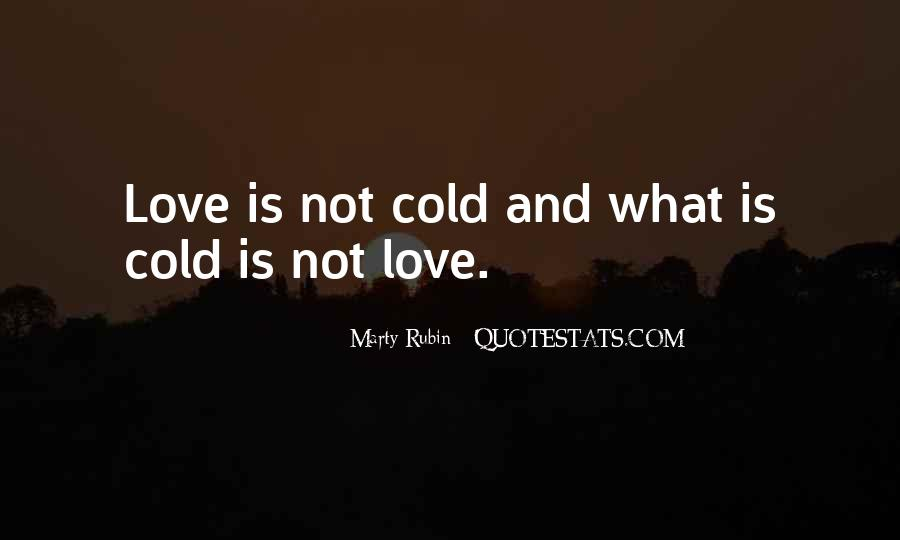 Quotes About Indifference And Love #1325158