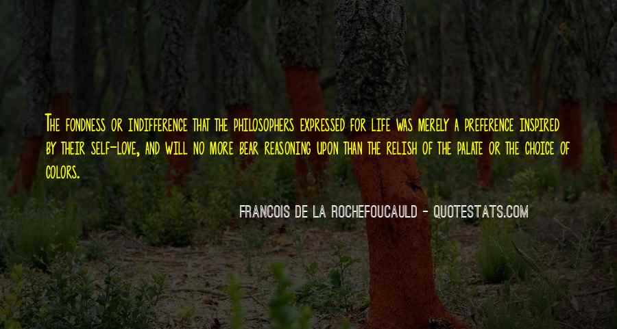 Quotes About Indifference And Love #502171