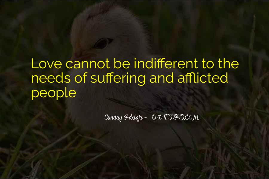Quotes About Indifference And Love #832805
