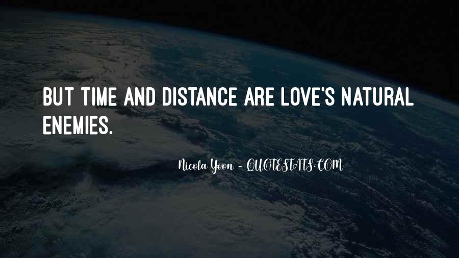 Quotes About Distance And Love #196855