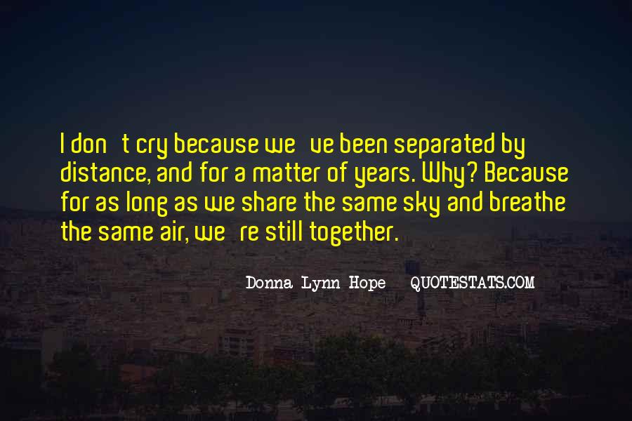 Quotes About Distance And Love #21548