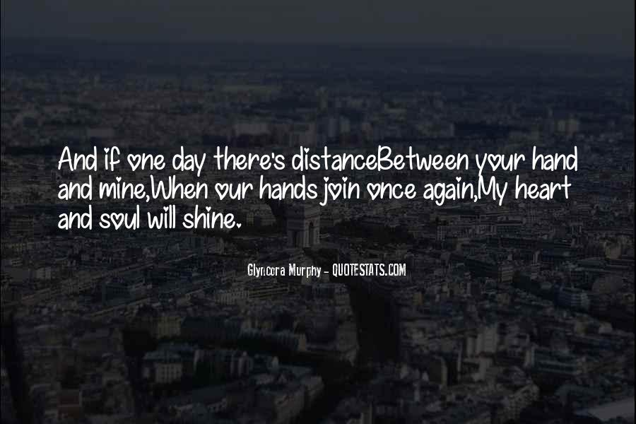 Quotes About Distance And Love #2725