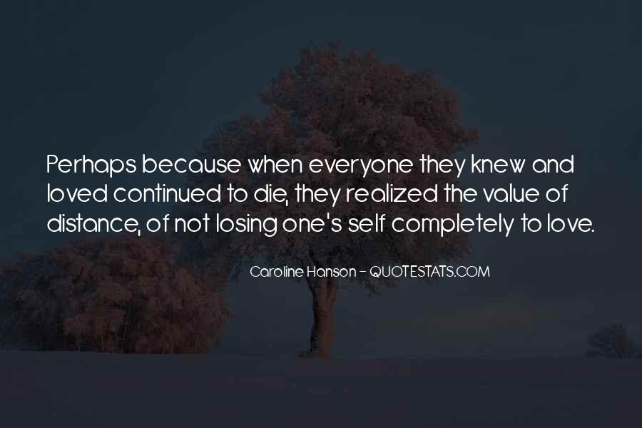 Quotes About Distance And Love #280415