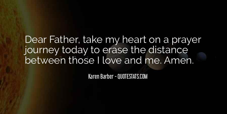 Quotes About Distance And Love #281703