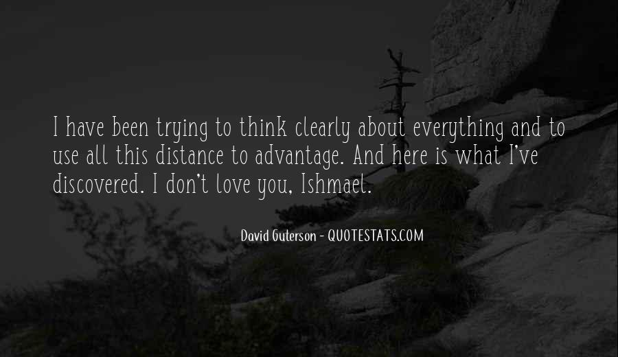 Quotes About Distance And Love #358609