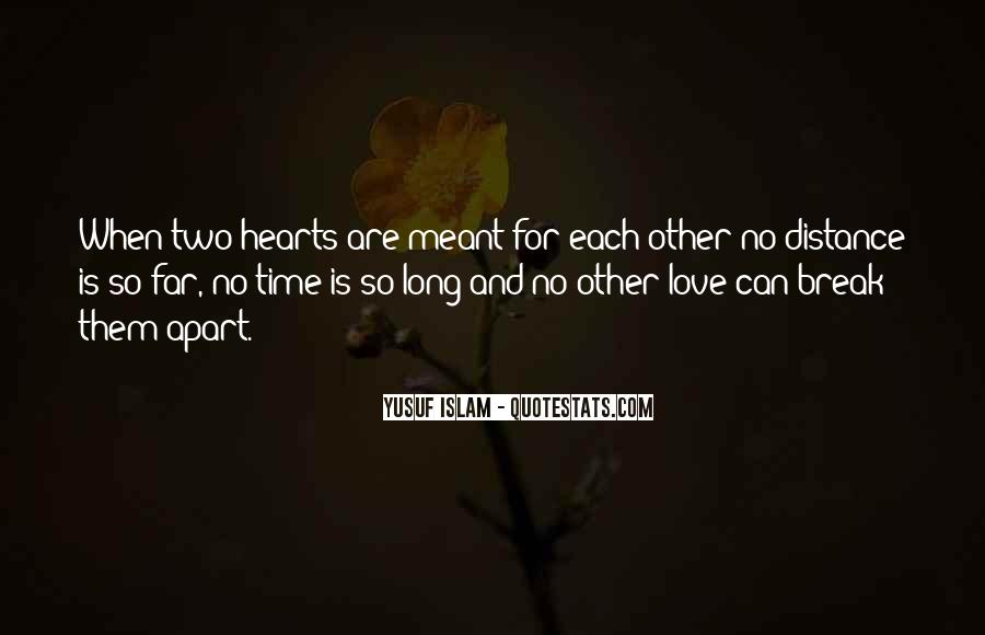 Quotes About Distance And Love #411255