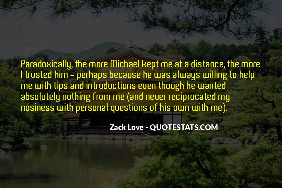 Quotes About Distance And Love #471546
