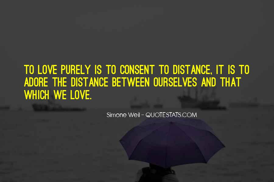 Quotes About Distance And Love #552454