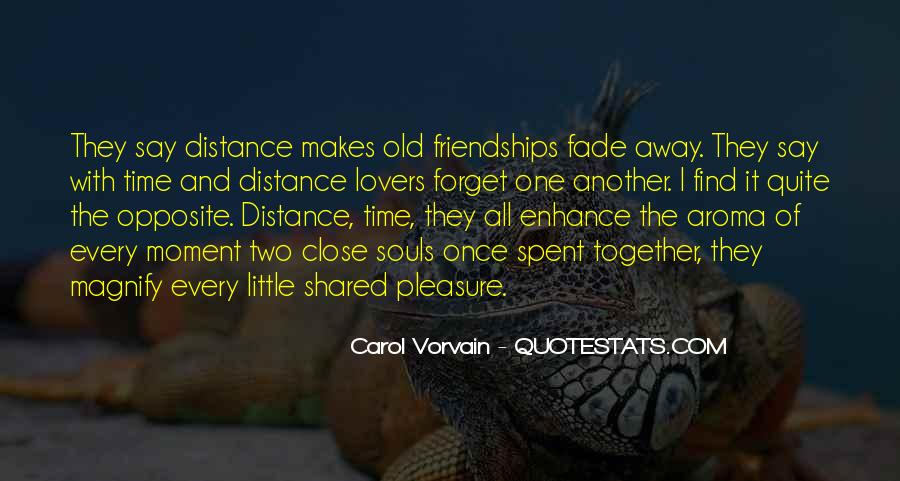 Quotes About Distance And Love #566226