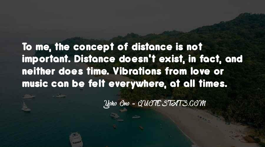 Quotes About Distance And Love #708991