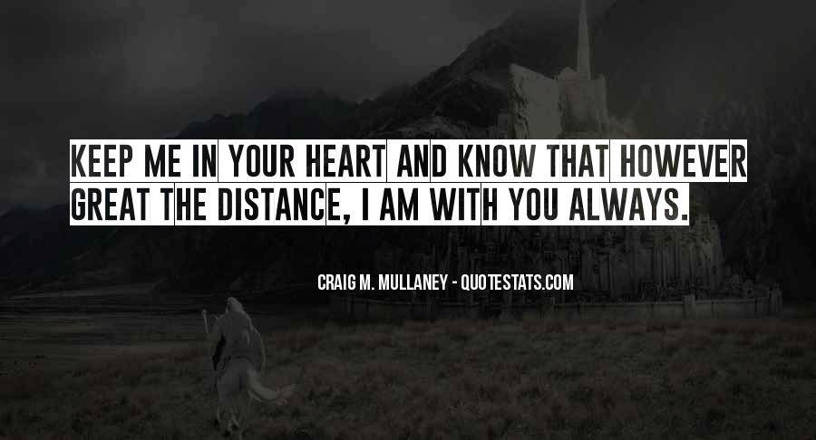 Quotes About Distance And Love #790577