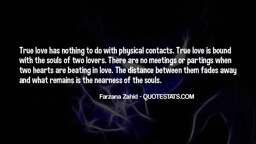 Quotes About Distance And Love #842489
