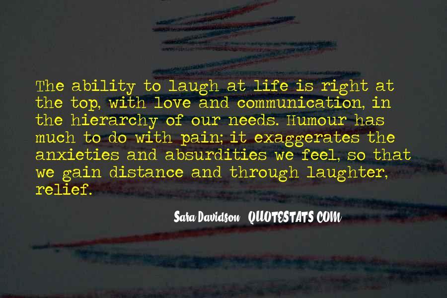 Quotes About Distance And Love #857396